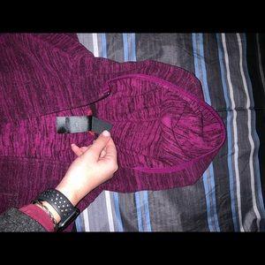 Full zip north face hoodie